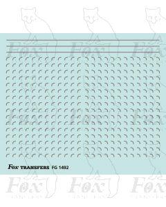 Corners in silver - Small-Radius 0.35mm