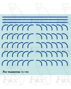 Corners in blue - Large-Radius