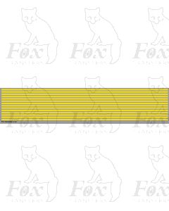 Lining in yellow - 298mm x 2.5mm
