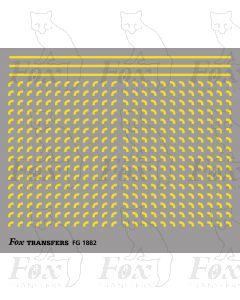 Corners in yellow - Small-Radius