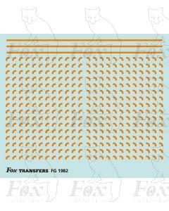 Corners in orange - Small-Radius 0.75mm