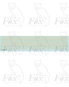 Lining in orange - Fine lines, 298mm x 0.35mm
