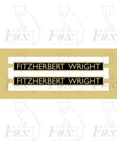 1249  FITZHERBERT WRIGHT