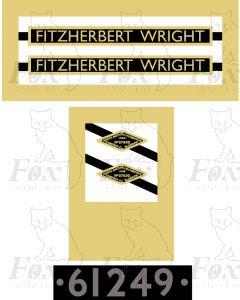 61249  FITZHERBERT WRIGHT