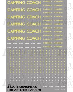 LMR Camping Coach Graphics