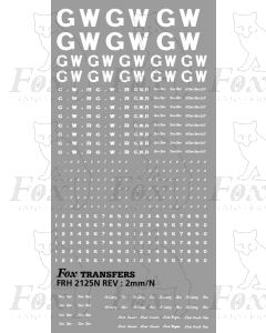 GWR Freight Vehicle General Pack