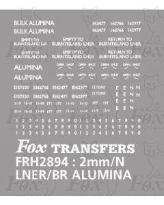LNER/BR ALUMINA