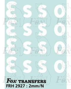 ESSO Class B Tank Logos, large