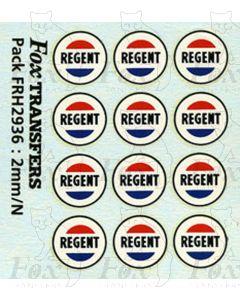 Regent Logos for Class A Tanks