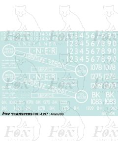 LNER Container Pack 3 - BK Series