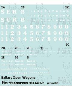 SER Ballast Open Wagon