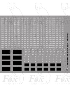 Numbersets and Patches,