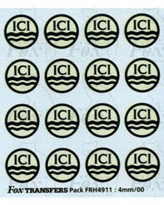 ICI Tanker Roundels for Class A Tankers
