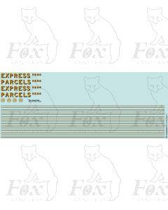 GWR RAZOR-EDGE RAILCAR (EXPRESS PARCELS)