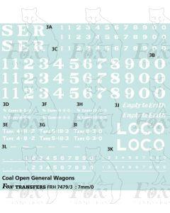 SER Coal Open General Goods Wagon