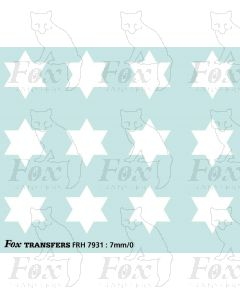 Fast Traffic Stars for freight vehicles, white