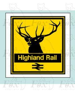 Highland Rail - STICKER