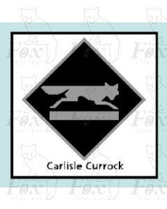 Carlisle Currock - STICKER