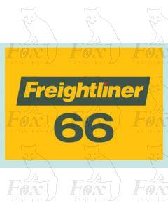 Freightliner 66 - STICKER