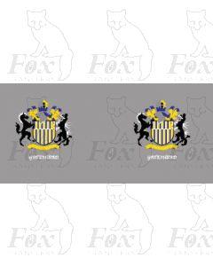 Class 40/47 Gateshead cabside crests
