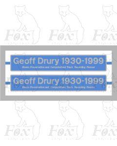 43046 Geoff Drury 1930-1999