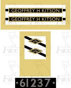 61237  GEOFFREY H KITSON