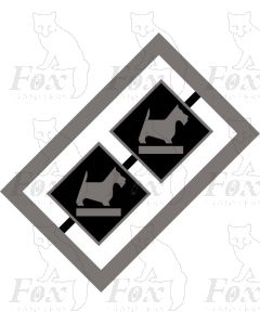 MPD Plaques - Eastfield West Highland terrier
