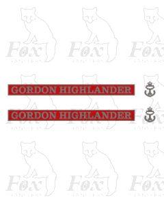 D9016 GORDON HIGHLANDER