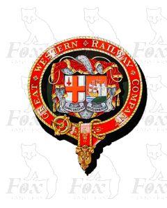 GWR Garter Crests 1903-1912