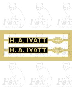 60123  H. A. IVATT