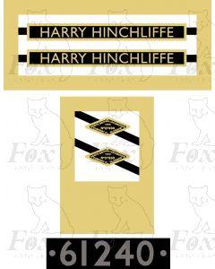 61240  HARRY HINCHLIFFE