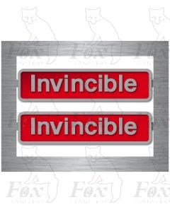 50025 Invincible