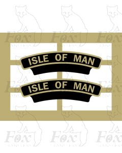 45511  ISLE OF MAN (no crest)