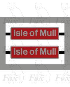 37424 Isle of Mull