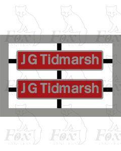 92039 J G Tidmarsh