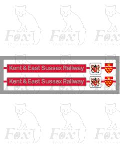 73126 Kent and East Sussex Railway (with plaques)