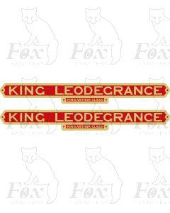 30739  KING LEODEGRANCE