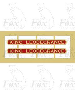 73118 KING LEODEGRANCE