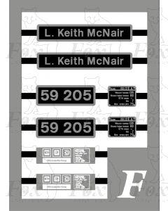 59205 L Keith McNair
