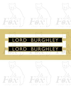 61247  LORD BURGHLEY