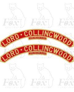 862  LORD COLLINGWOOD