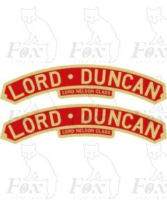 30858  LORD DUNCAN