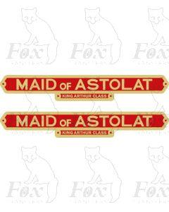 744  MAID OF ASTOLAT
