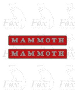 47085 MAMMOTH