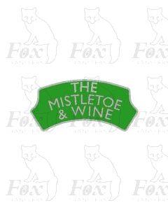 FESTIVE Headboard - THE MISTLETOE AND WINE