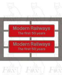 66745 Modern Railways The first 50 years