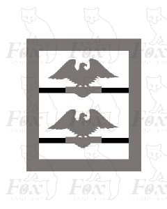 MPD Plaques - Crewe Res International eagle (cut out)