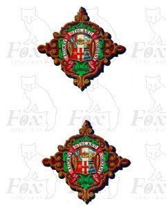 Midland Railway Loco Crests - Small (DIGITAL CRESTS)