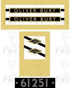61251  OLIVER BURY