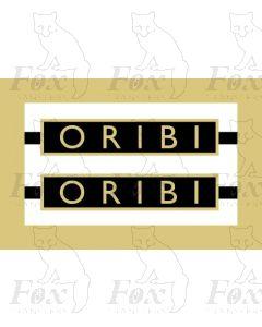 1014  ORIBI